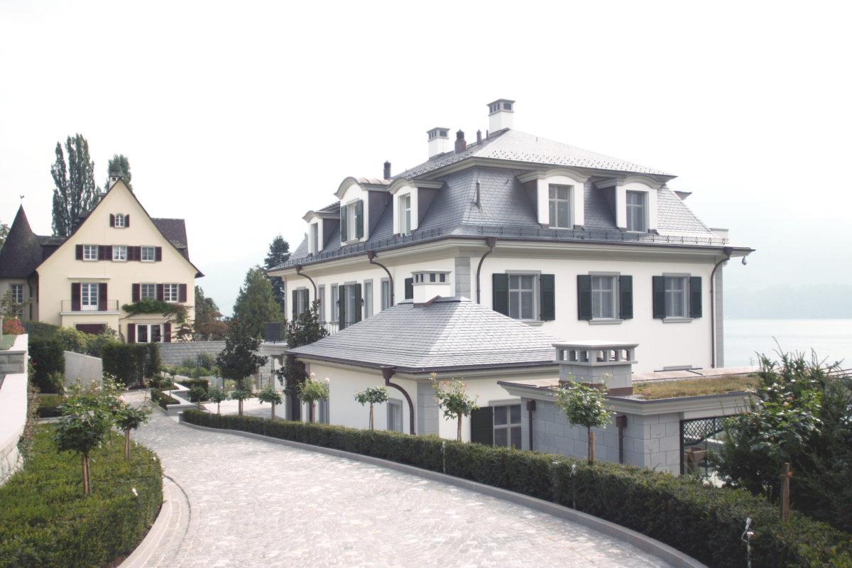 Neubau Villa Meggen S – Lötscher Architektur Meggen